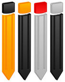 εικονίδιο μολυβιού — Διανυσματικό Αρχείο