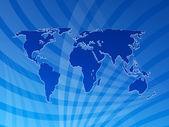 Sfondo di mappa mondo 2 — Foto Stock