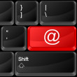 Computer button e-mail — Stock Vector #6184967