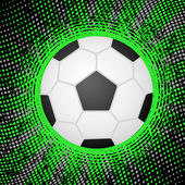 Abstract soccer background — Stock Vector