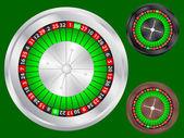 рулетка казино — Cтоковый вектор