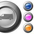 Royalty-Free Stock Vector Image: Sphere button van