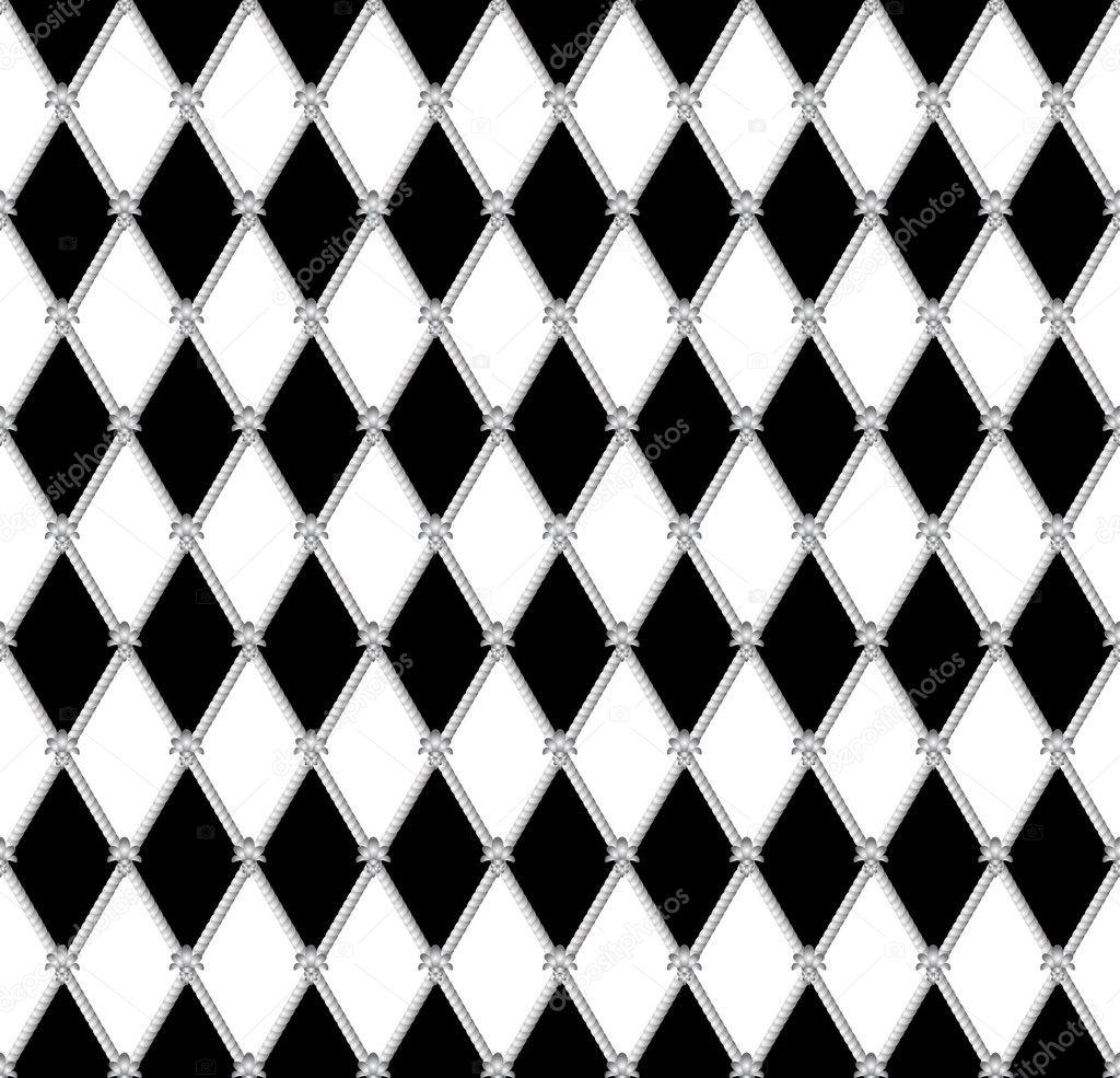 黑白色的无缝背景