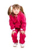 Cute Little Girl — 图库照片