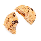 Oatmeal Chocolate Chip Cookie — Stock Photo