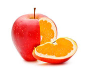 GMO Appleorange — Stock Photo