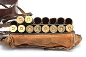 ビンテージ弾薬ベルト — ストック写真