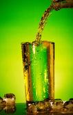 Pouring Soda — Stock Photo