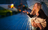 Under the Rain — Stock Photo