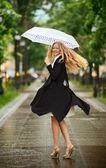 Under the Rain — Stock Photo