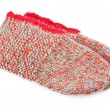 Wool Knitted Socks — Stock Photo