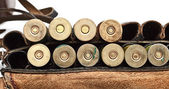 Vintage Ammunition Belt — Stock Photo