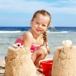 Child playing on beach. — Stock Photo #5735998