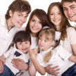 Happy family , boy and girl. — Stock Photo #5736538