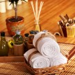 Spa still life  with bamboo. - Foto Stock