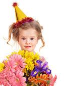 Dziecko kapelusz strony. — Zdjęcie stockowe