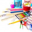 Stock fotografie: Back to school supplies.