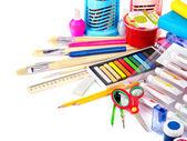 Powrót do szkoły dostaw. — Zdjęcie stockowe