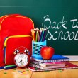 Back to school supplies. — Zdjęcie stockowe #5972983