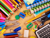 School office supplies. — Stock Photo