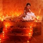 Woman relaxing in bath. — Stock Photo #6102152