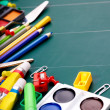 School office supplies. - Stock fotografie