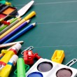 School office supplies. - Stockfoto