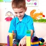 Child play construction set . — Stock Photo