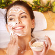 Natural homemade facial masks . — Stock Photo #6140891