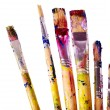 Close up of art utensils. — Stockfoto