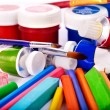Stock Photo: Art utensils