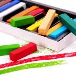 Close up of school utensils. — Stock Photo