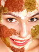 Natural homemade clay facial masks . — Stockfoto