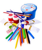 Office supplies. — Foto Stock