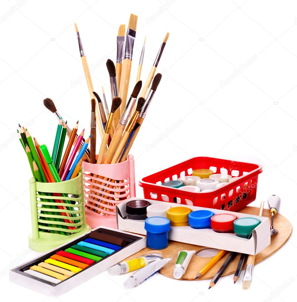 Office Supplies Images Office supplies isolated on