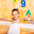Kid washing in bath. — Stock Photo #6256611