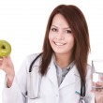 Medicine doctor with stethoscope. — Stock Photo