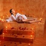 Woman relaxing in bath. — Stock Photo #6336576