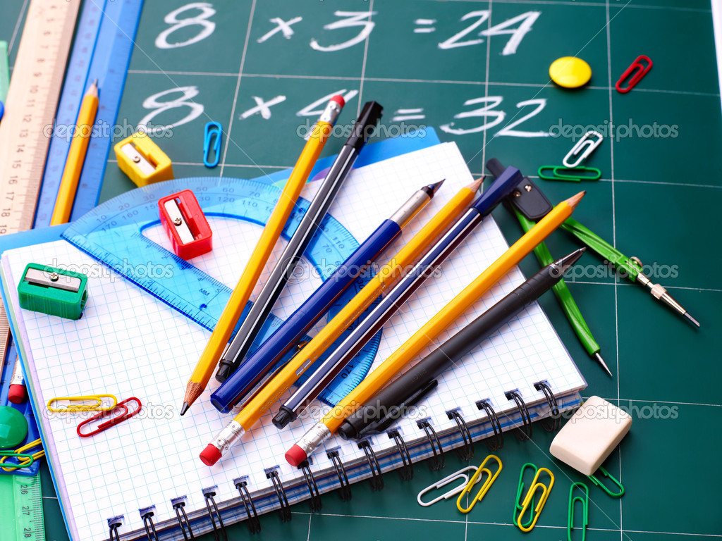 how to say school supplies in french