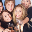 Group drinking champagne. — Stock Photo #6410119