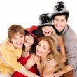 Group young on party. — Stock Photo #6410127