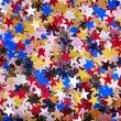 Stock Photo: Holiday star shape background.