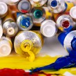 Close up of art supplies. — Stock Photo #6724216