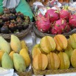 Group of Thai fruit. — Foto Stock