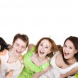 Group of happy young — Stock Photo #6724789