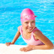 Child swimming in pool. — Stock Photo #6725776
