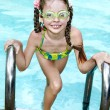 Child swim in swimming pool. — Stock Photo #6725779