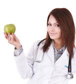 Medicine doctor with stethoscope. — Foto de Stock