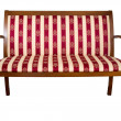 Wooden couch - Stockfoto