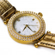 Gold  watch — Foto Stock